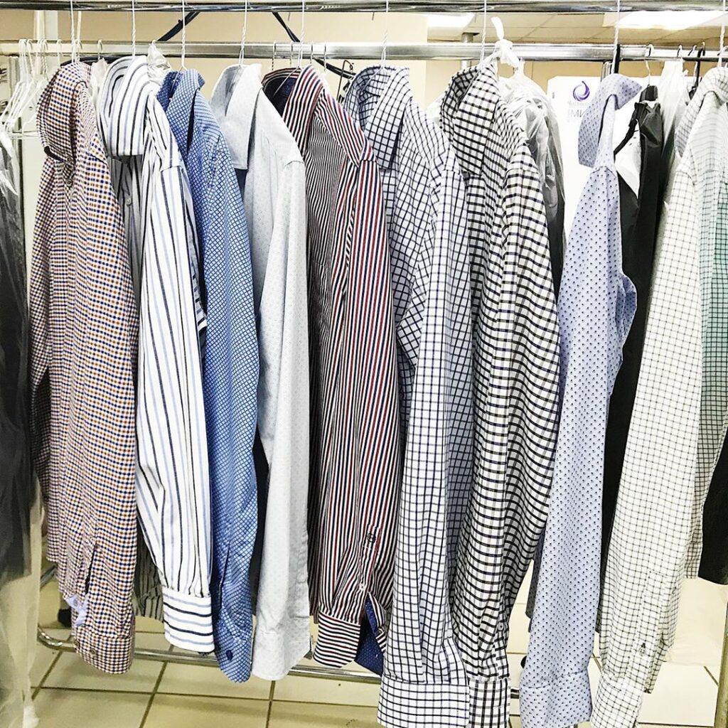 стирка рубашек
