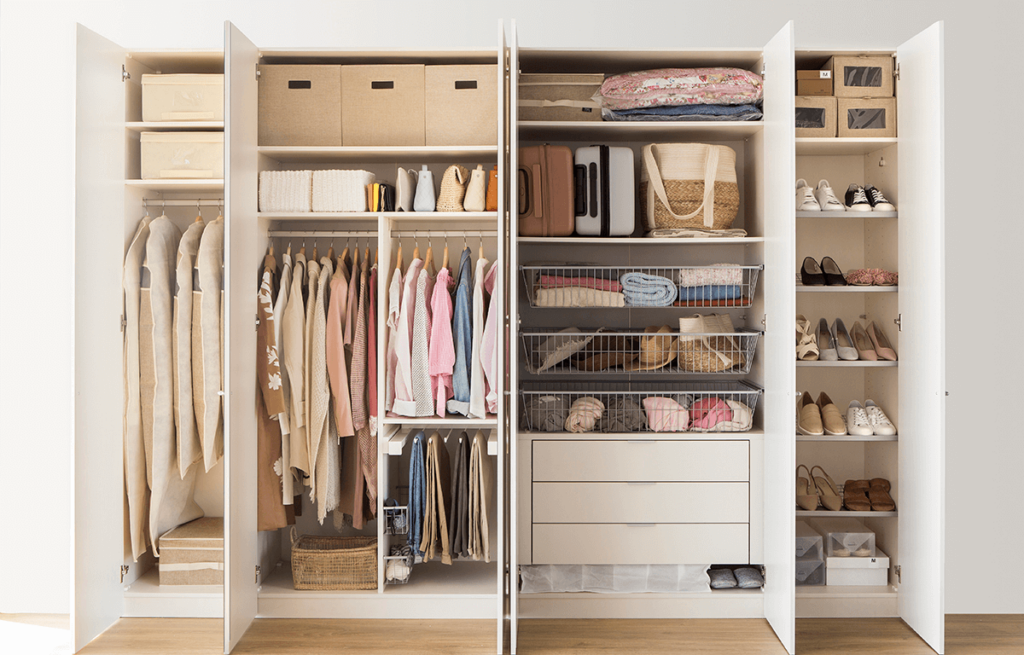 Хранение одежды и обуви